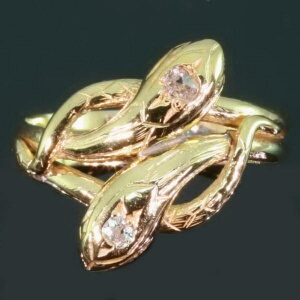 rings p rhinestoned golden sparkly zaful wedding ring snake best