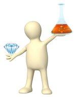 about man made diamonds