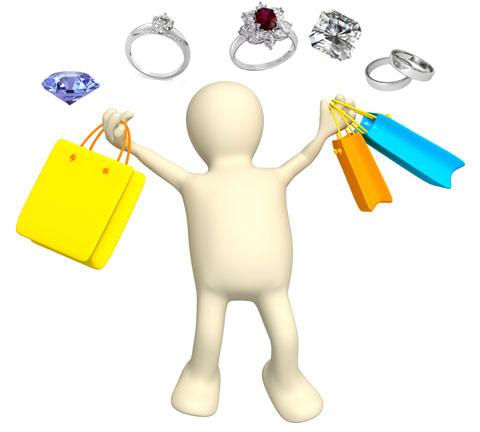 wedding ring shopping tips