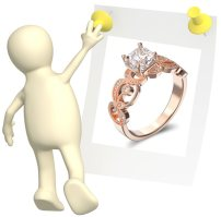 about rose gold wedding rings