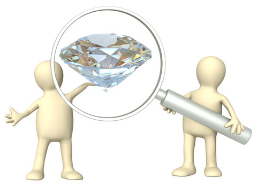about diamond 4cs