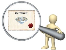 about diamond certification