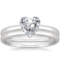 Heart shaped engagement rings the handy guide before you buy take a look at heart engagement ring and wedding set collections by brilliant earth like these below junglespirit Gallery