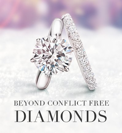 Lab Created Diamonds And Synthetic Diamond Rings The