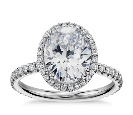 Oval cut engagement rings the handy guide before you buy heiress halo oval diamond engagement ring in platinum by blue nile studios junglespirit Choice Image