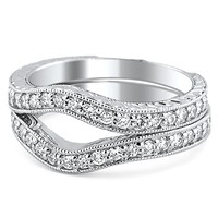 the curved wedding band and ring the handy guide before you buy