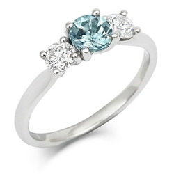 cred sapphire engagement ring