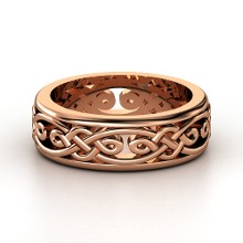 top rose gold wedding ring styles by gemvara - Mens Rose Gold Wedding Rings