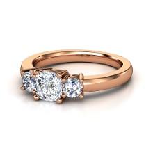 top rose gold wedding ring styles by gemvara - Rose Gold And White Gold Wedding Rings