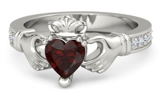 Garnet Engagement Rings And Wedding Bands The Handy Guide Before