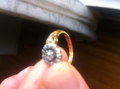Antique ring hallmarks