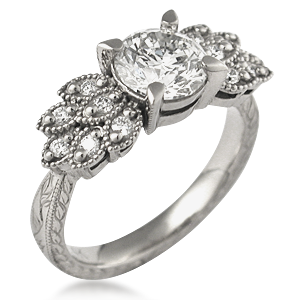krikawa designer diamond engagement ring