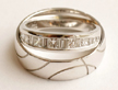 silver wedding bands