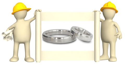 about stainless steel wedding rings