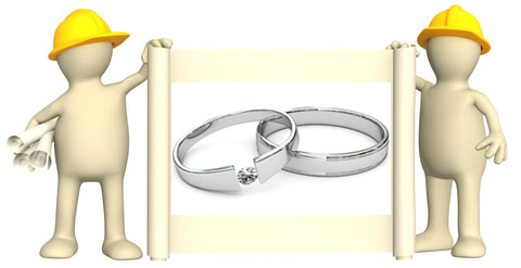tension set engagement rings