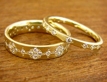 handmade gold wedding rings