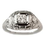 used vintage diamond ring