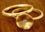 handmade unique wedding rings