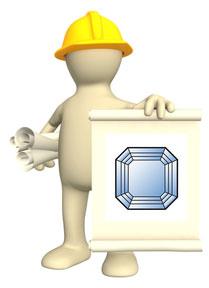 about Asscher cut diamond rings