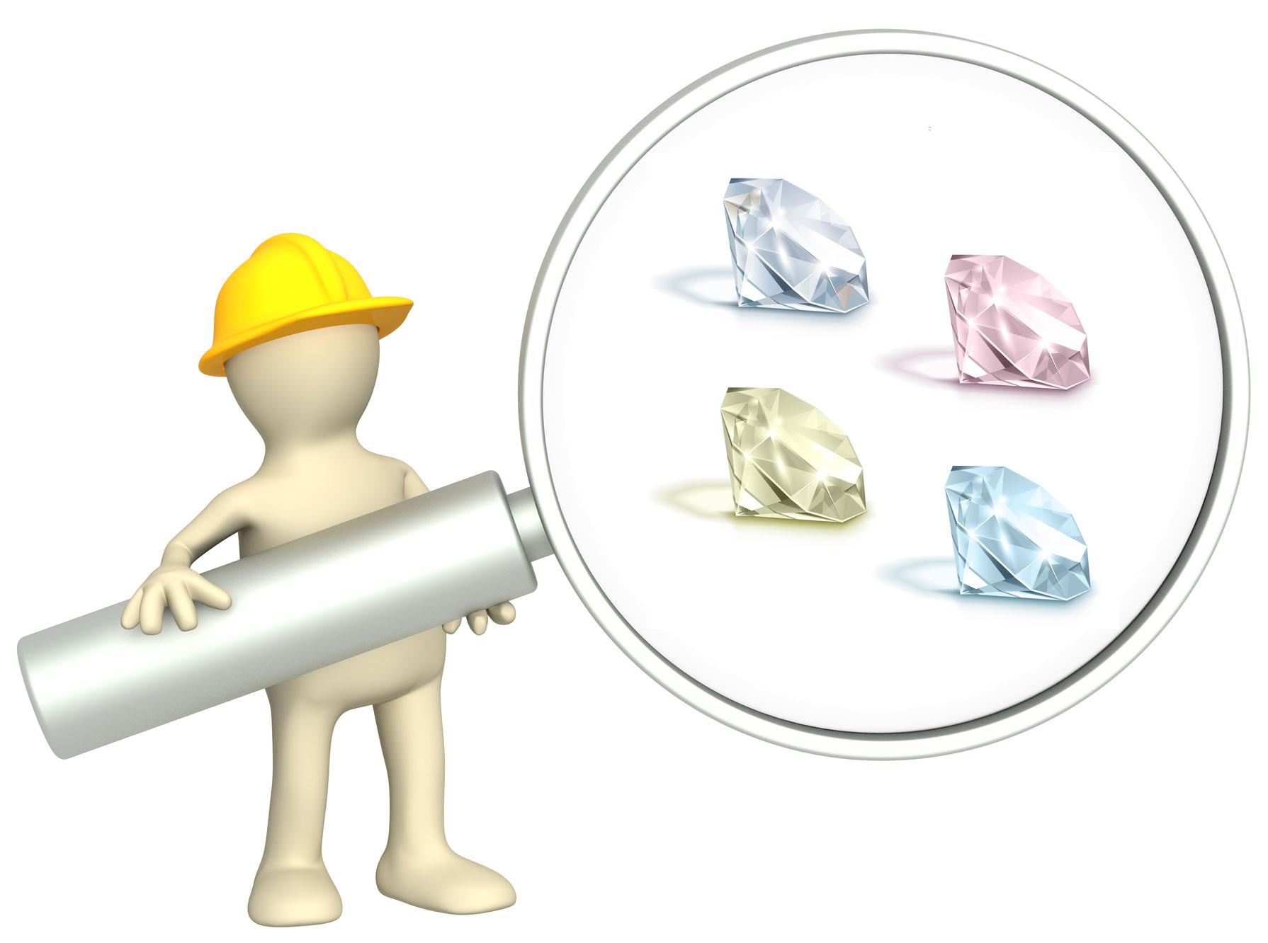 about color diamonds