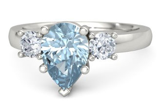 Aquamarine Engagement Rings and Wedding Bands The Handy Guide