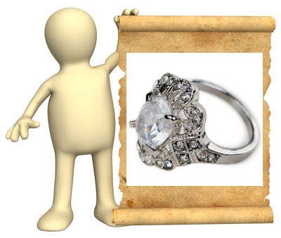 antique style engagement rings