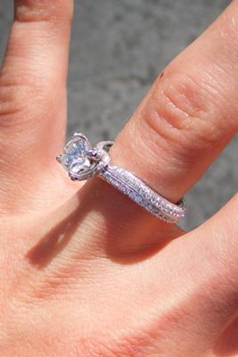 My Boyfriend And I Went To Consult With A Jeweler Regarding Purchasing Ring That Love For Some Odd Reason She Refused Give Us Specific Information
