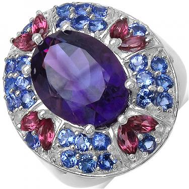 is this gemstone ring real or