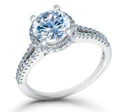about aquamarine engagement rings